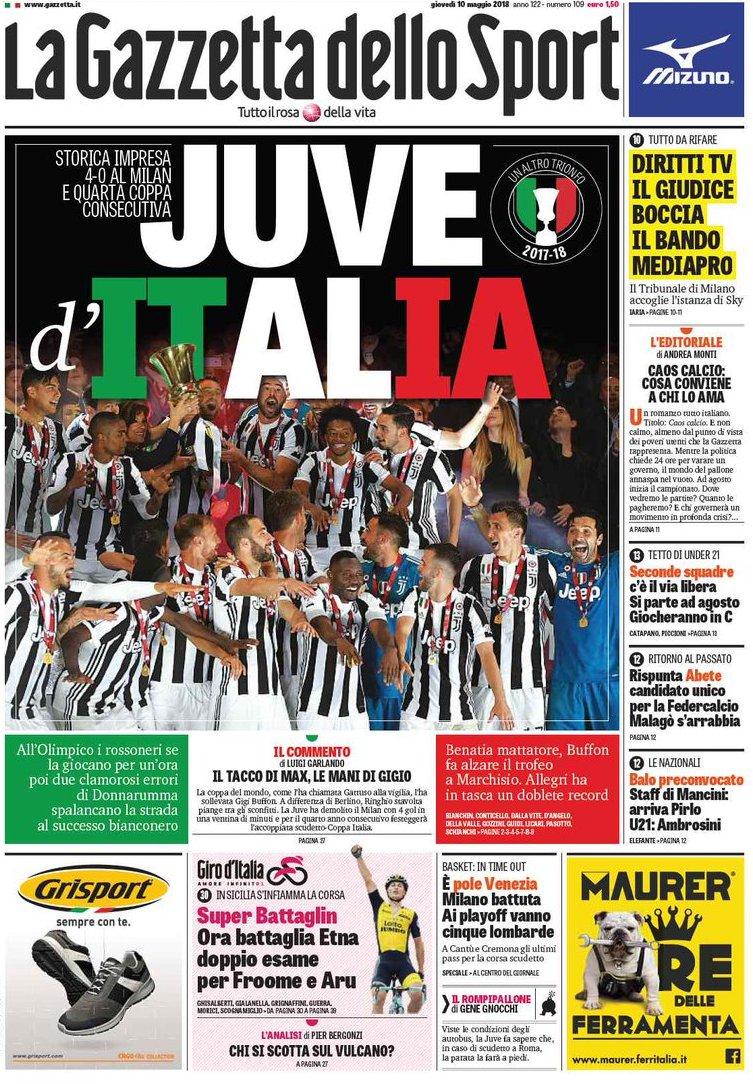 Gazzetta Juve d Italia
