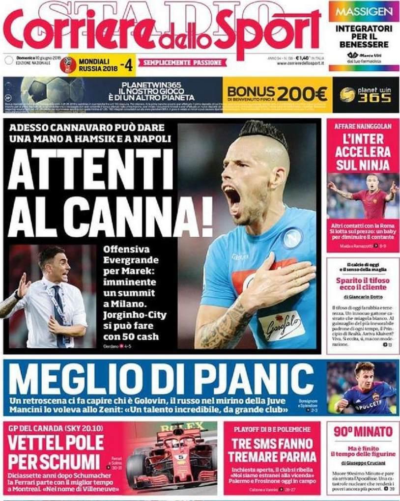 Corriere sport canna