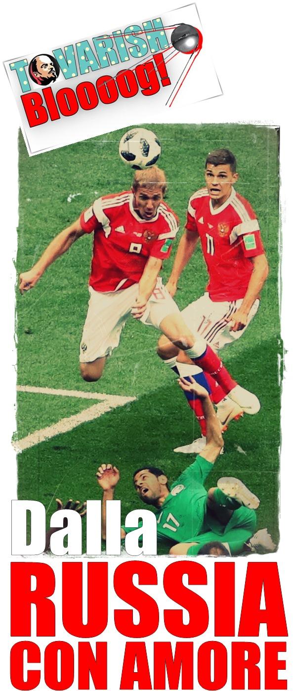 Group A Russia vs Saudi Arabia