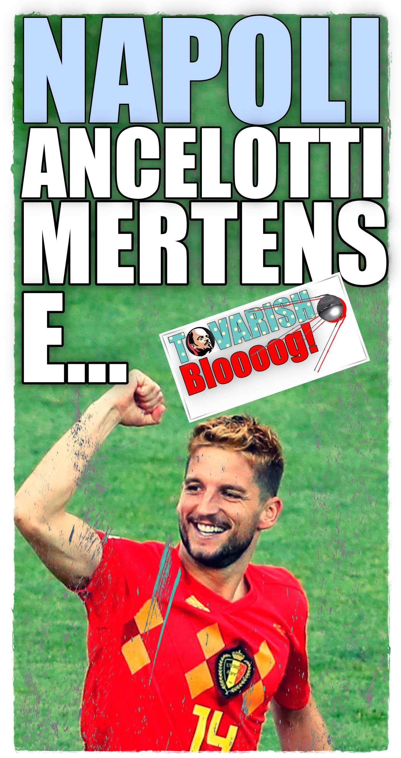 Mertens Belgio Napoli 1