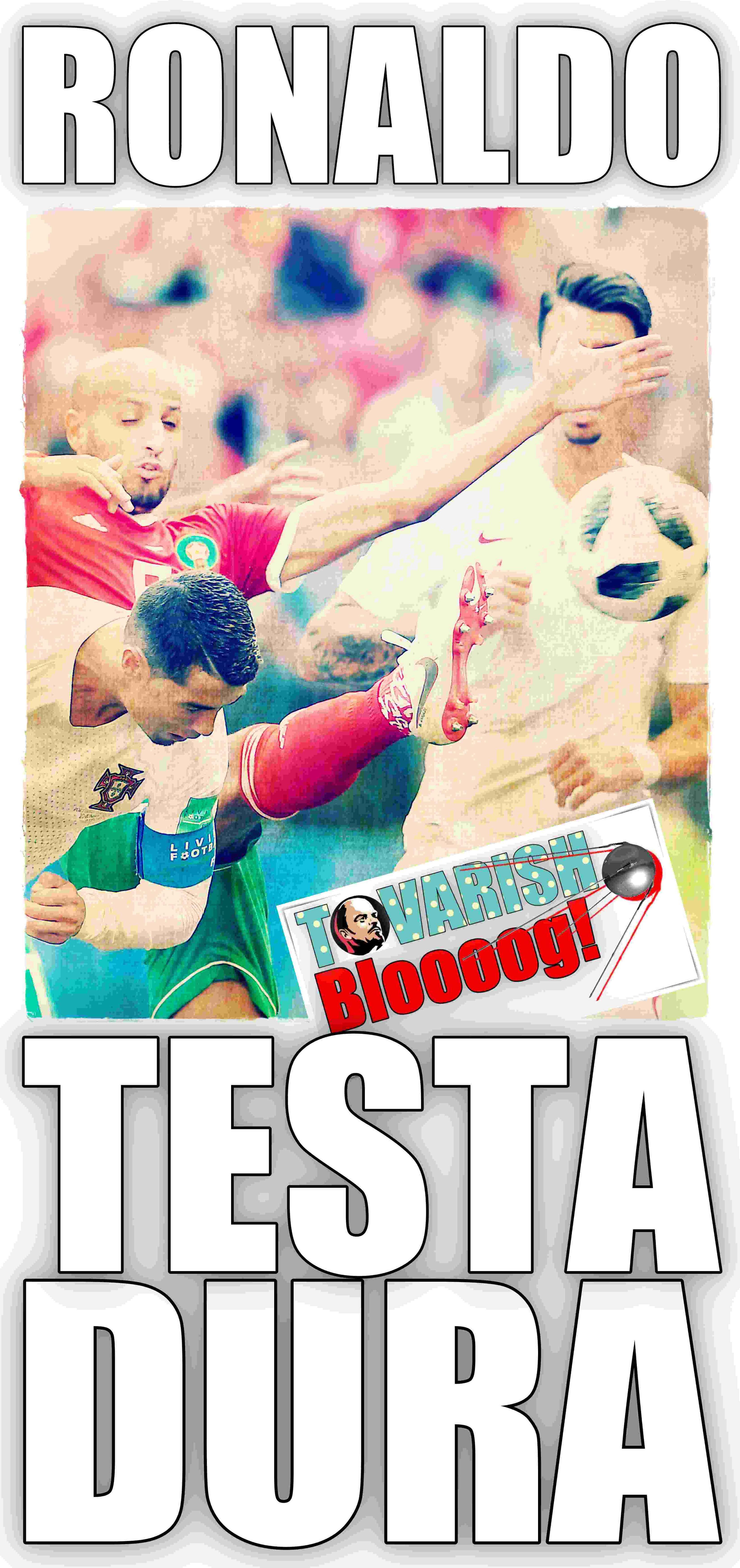 Ronaldo Portogallo Marocco 2