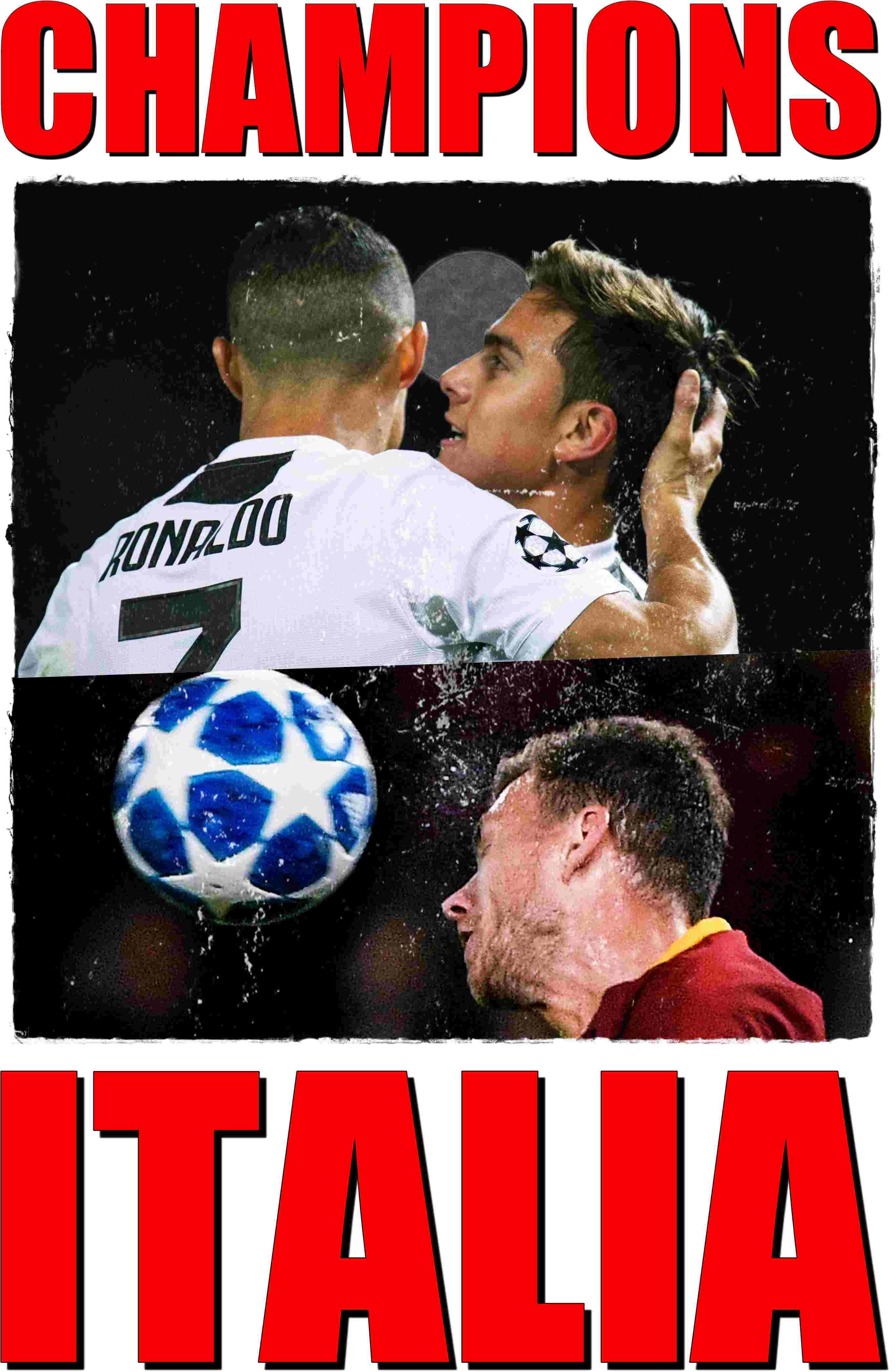 Ronaldo Dybala Dzeko