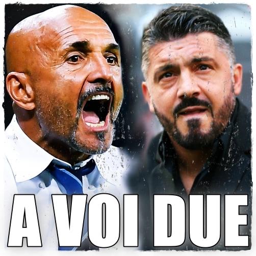 Spalletti Gattuso Derby