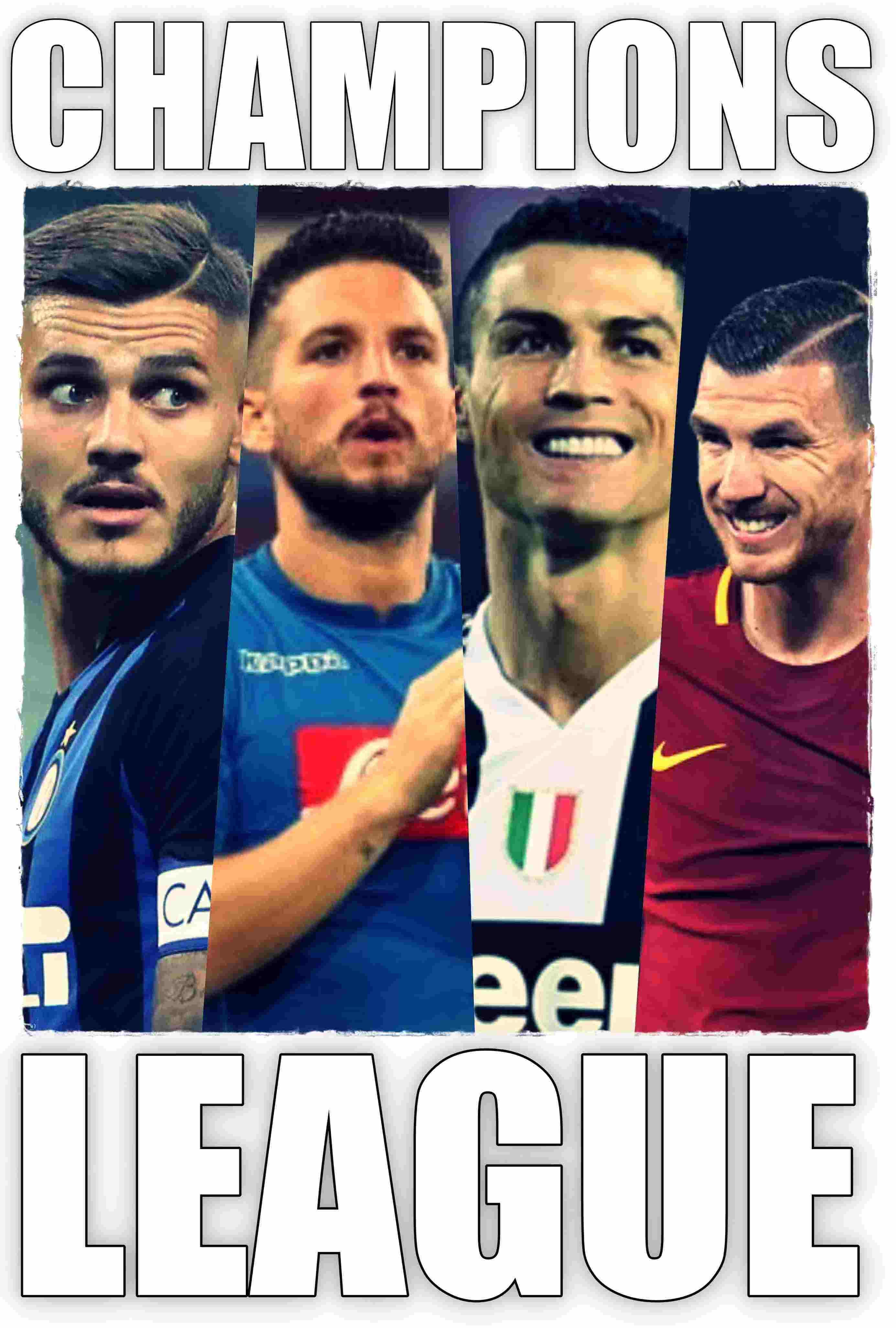 Icardi Mertens Ronaldo Dzeko 1
