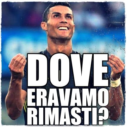 Ronaldo dove eravamo rimasti 1