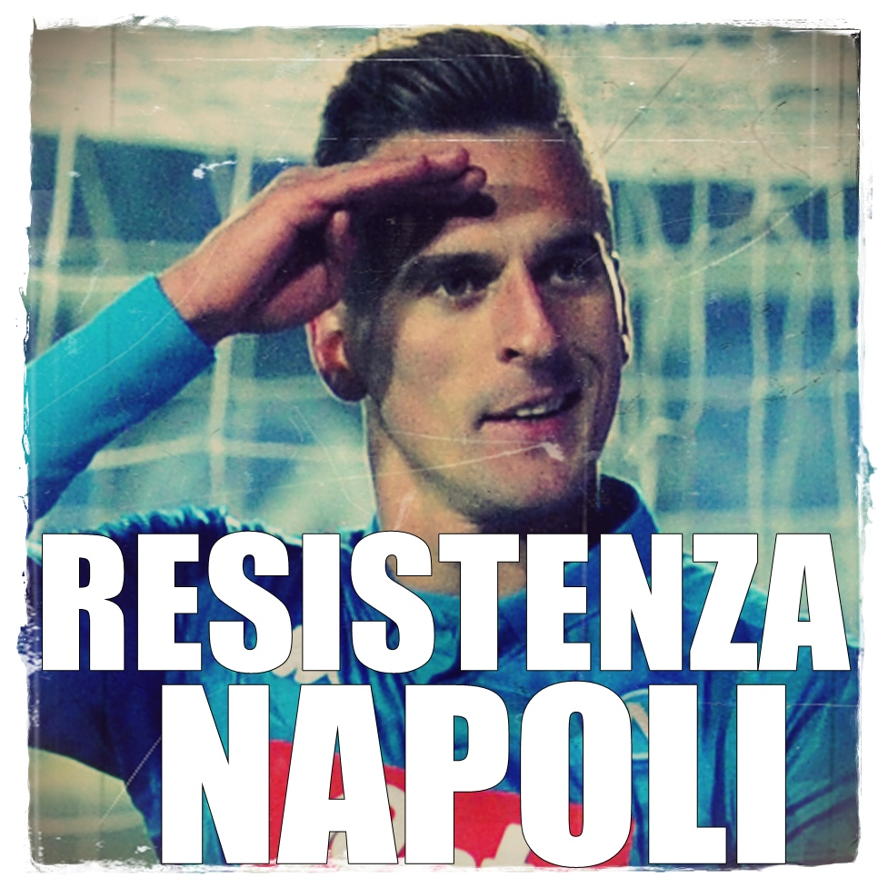 Milik Atalanta Napoli