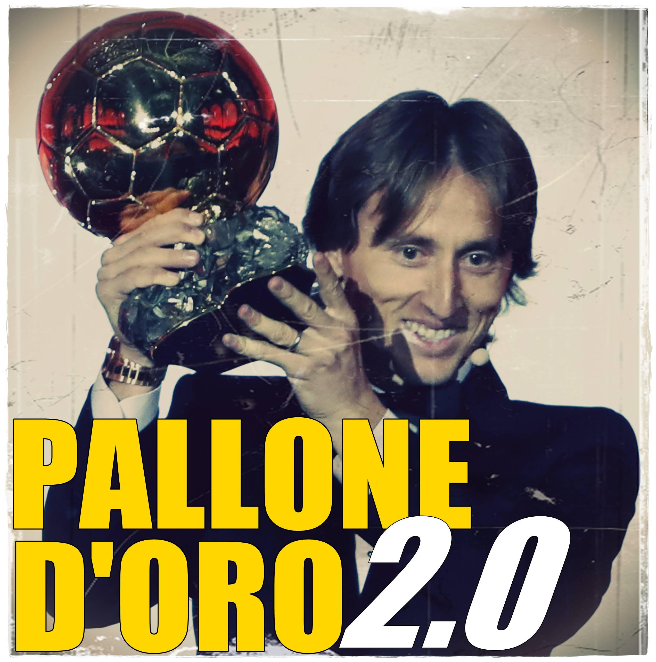 Modric Pallone d'Oro 2.0 2
