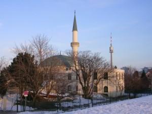 Vienna, Florisdorf, moschea costruita nel 1986