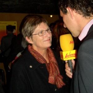09.10.09 06 Klagenfurt, Bergbaumuseum, mostra su Haider; Ursula Haubner