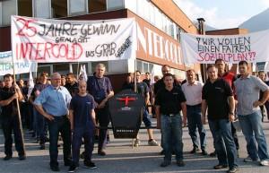 ok_intercold726kronhofer131 Hermagor, protesta luglio 2009