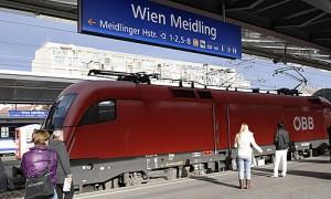 Oesterreich OEBB Bahnhof Meidling