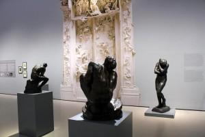 10.10.14 Vienna, Belvedere, Rodin_Ausstellungsansicht2