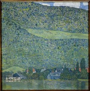 11.04.21 Salisburgo, Litzlberg am Attersee di Gustav Klimt