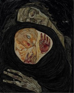 11.07.30 Leopold Museum, Madre morta I di Egon Schiele