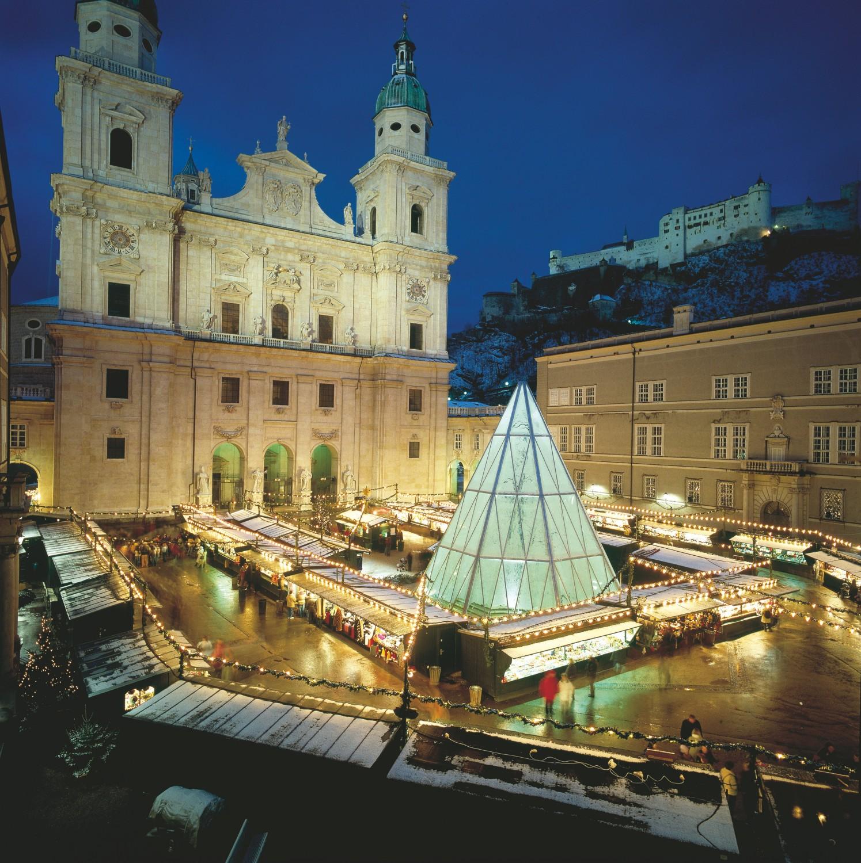 Mercatino Di Natale A Salisburgo Foto.A Salisburgo I Mercatini Di Natale Hanno Cinque Secoli Di