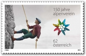 12.07.29 Francobollo 150 anni Alpenverein