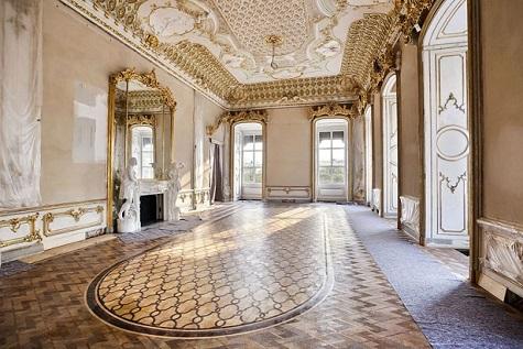 Il barocco maturo di casa liechtenstein austria vicina for Interni parigini