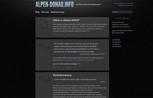 14.03.10 web neonazi alpen-donau.info