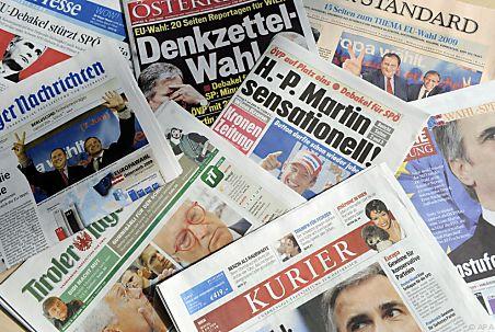 Zeitungen österreich