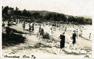 14.05.21 Linz, bagnanti lungo il Danubio nel 1922 - Copia
