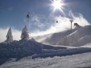 Schneesicherheit Beschneiung Nassfeld-Hermagor