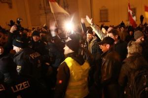 15.02.02 Dimostrazione Pegida a Vienna 2