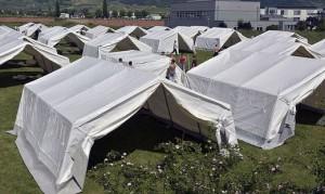 15.06.16 Tende per migranti in Austria (Traiskirchen)