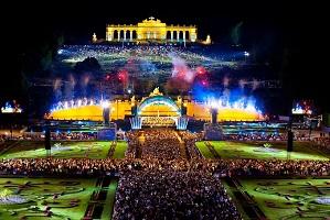 13.04.20 Vienna, Schönbrunn, concerto Wiener Philharmoniker