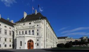 15.01.30 Vienna, ala Leopoldina della Hofburg (sede del Capo dello Stato) - Copia