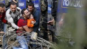 16.03.01 Profughi al confine Grecia-Macedonia
