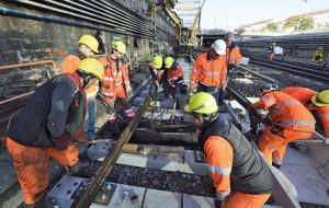 16.04.29 Vienna, metropolitana U4, lavori in corso - Copia