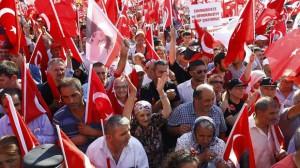 16.07.24 Manifestazione di turchi contro Erdogan