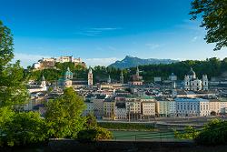 16.07.27 Salisburgo, panorama dal Kapuzinerberg - Copia