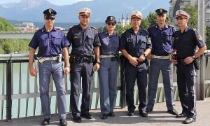 16.08.06 Polizia italiana al Kirchtag di Villach