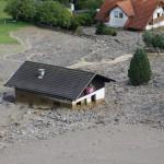 Emergenza maltempo in Carinzia, un paese travolto dal fango