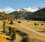 In giro in bicicletta per l'Austria immersa nei colori dell'autunno