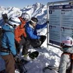 Uno spettacolare snowpark sul ghiacciaio più giovane dell'Austria
