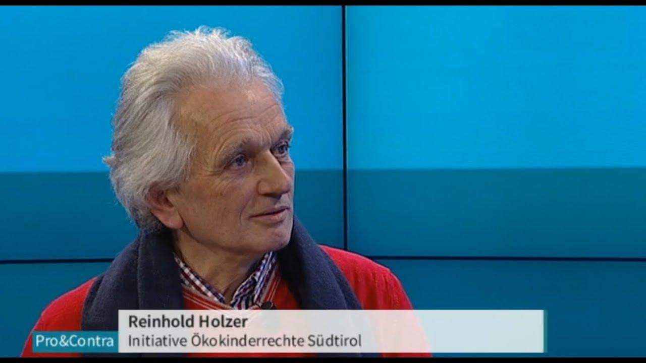 17.06.10 Reinhold Holzer, Ökokinderrechte Südtirol (contro vaccinazioni)