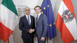 17.07.21 Vienna, Angelino Alfano e Sebastian Kurz