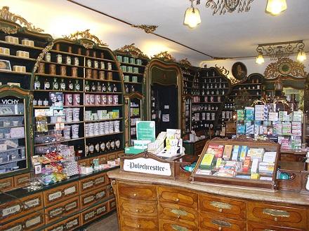 18.08.16 Salisburgo, Alte fürst-erzbischöfliche Hofapotheke, Antica farmacia della Corte - Copia