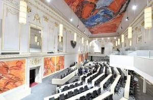 17.09.17 Vienna, sede provvisoria Parlamento in Redoutensaal Neue Hofburg - Copia