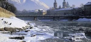 17.11.27 Innsbruck vista dal fiume Inn - Copia
