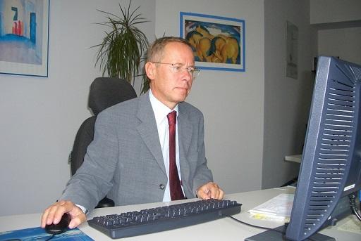 06.10.01 33 Vienna; René Siegl direttore generale dell'Austrian Business Agency - Copia