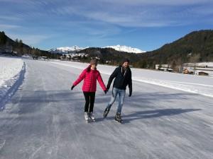17.12.23 Weissensee, pattinaggio su ghiaccio