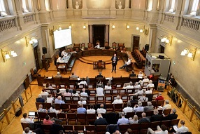17.10.27 Vienna, aula di Corte d'assise (Schwurgerichtsaal)