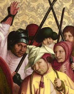 18.01.04 Belvedere; Rueland Frueauf il Vecchio, crocifissione di Cristo (partic.) - Copia