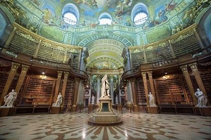 18.01.12 Vienna, Biblioteca nazionale, Österreichische Nationalbibliothek (foto Hloch) - Copia