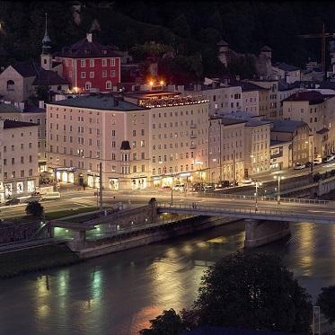 18.04.11 Salisburgo, HotelStein, Staatsbrücke sulla Salzach - Copia