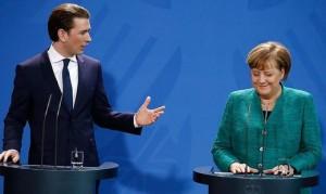 18.05.19 Sebastian Kurz e Angela Merkel