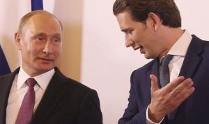 18.06.06 Vladimir Puntin con Sebastian Kurz